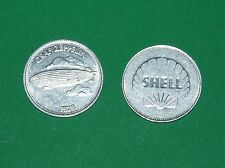 1969 COLLECTION SHELL GB ARGENT EPOPEE ESPACE AVIATION GRAF ZEPPELIN 1928