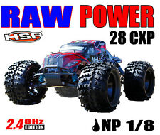NEW HSP 1/8 RC NITRO MONSTER TRUCK 28CXP 4.57cc SH28 ENGINE RTR 4WD HSP 94087