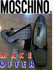 Designer shoes MOSCHINO Prom shoes Wedding shoes Italian shoes Bridal shoes