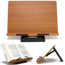 Book Stand Portable Wooden Reading Desk Holder [J]