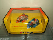 "CORGI  GIFT SET MODEL  No.46 ""SUPER KARTS""     VN  MIB"
