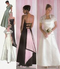 Misses EVENING | BRIDAL Dress | Shrug | MCCLINTOCK | 6-12 | UNCUT Sewing Pattern