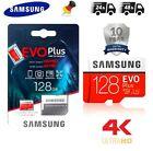 Samsung Evo Plus 128GB (2021)Micro SDXC Speicherkarte 4K Class10 UHS-I U3 mit Ad