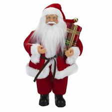 30cm Standing Santa Figure Christmas Decoration