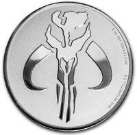 2020 Star Wars Mandalorian 1 oz .999 Fine Silver Coin - IN COIN CAPSULE
