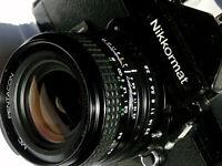 UNIQUE: Pentacon Prakticar 2.8/28mm converted NIKON with infinity, Near MINT