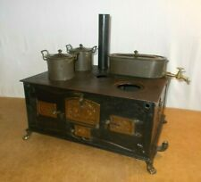RARE antique MARKLIN - COOKING STOVE WITH PANS doll house kitchen - around 1900
