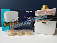 DRAYTON 22MM 3 PORT MID POSITION VALVE 27101 MA1/679-3 REMOVABLE ACTUATOR