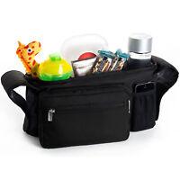 Portable Pram Stroller Pushchair Buggy Organizer Bag for Bugaboo Runner Complete