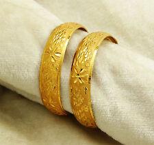 18K Plaqué Or Kada Bracelet Femmes Indien Ethnique Bijoux Traditionnel 2 * 6