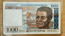 (#N0600) MADAGASCAR ; BILLET de 1000 FRANCS