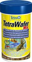 Tetra  WAFER MIX - AQUARIUM SINKING FISH FOOD BOTTOM FEEDERS 48g/100ml