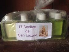 17 aceite de SAN LAZARO Babalu Aye Oils Saint Lazarus Santeria Lukumi Ifa Palo