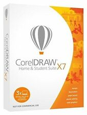 Corel CorelDRAW Home and Student Suite X7 -3 Users Graphic Design Software ✔NEW✔