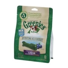 Greenies Dental Treats Large for Dogs (Blueberry) Dog Dogs Pet Pets