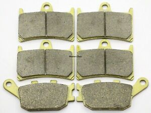 MC Front Rear Brake Pads For Yamaha YZF R1 5VY 2004 2005 2006/ R1 LE/SP 4B1 2006