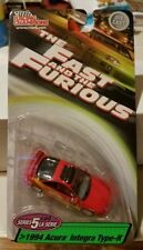 *RARE* The Fast and the Furious 1:64 Series 5 1994 Acura Integra type-R