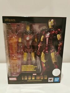 S.h. Figuarts Iron Man Mark 3 155mm Action Figure Bandai