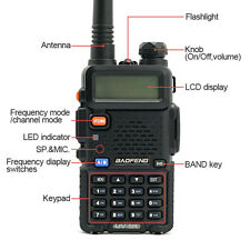 Baofeng Uv-5R Two Way Radio Dual-Band Lcd display outdoor call Walkie Talkie