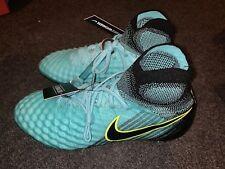 NWT Women'Nike Magista Obra II 2 SG ACC Teal Soccer Cleats 844209-401 SZ 8