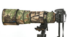 ROLANPRO Nylon Lens Camouflage Rain Cover Nikon AF-S VR 200-400mm f/4G ED VR