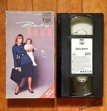 Baby Boom (VHS, 1988) starring Diane Keaton *RARE *FREE SHIPPING