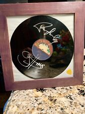 KISS autographed album Gene Simmons Paul Stanley - Ace Frehley guitar pick too!