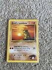 Pokemon Cards - Brock's Sandshrew - Mint Condition