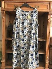 Gudrun Sjoden Beautiful  Cotton Dress XL