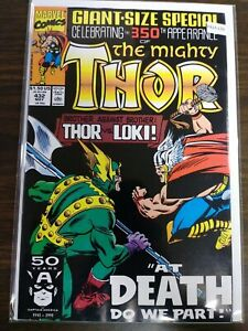 MIGHTY THOR 432 NM MARVEL PA15-133