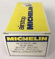 Michelin Airstop Bike Inner Tube 20 x 1.75 - 20 x 2.125 Standard, 20-9 M, NOS