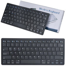 Bluetooth teclado QWERTY ICOO q7 mtk8382 Quad Core 7 Keyboard x5 Perl negro