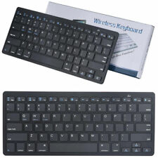 Bluetooth teclado QWERTY HKC m76 rk3066 Keyboard x5 Perl negro