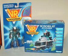 Sabans VR TROOPERS TANKOTRON & SKYBORG JET 1994 Vintage by Kenner - BNIB