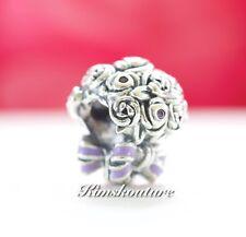 Authentic Pandora Celebration Bouquet Charm, Lilac & Pink Crystals797260NLC