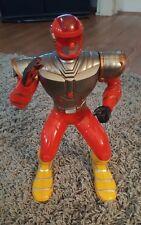 "Vintage 14"" Feng Yuan Talking Action Robot Toy RED MAGICAL WARRIOR NINJA"