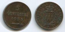 G12015 - San Marino 5 Centesimi 1935 R Rom KM#12