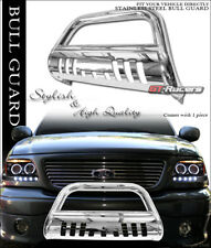 S/S STEEL BULL BAR BRUSH BUMPER GRILL GRILLE GUARD FOR 2005+ FRONTIER/PATHFINDER