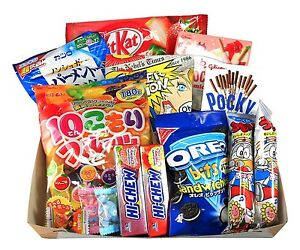 """""""Japanese Treats"""" GIFT BASKET/ BOX  for All Occasions or Care Package"""