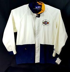 NFL Denver Broncos Super Bowl XXXII Champions 1/4-Zip Jacket, Starter, Size XL