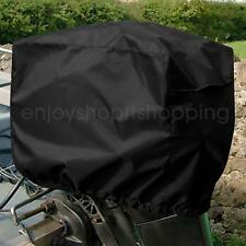 Trailerable Waterproof Vented Motor Boat Engine Cover Protector for 2-5 HP