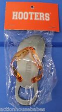 Hooters Resturant Collectable Girl FLIP FLOP / Shoe / Sandel Beer Bottle Opener