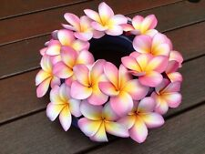 Frangipani Flower Ring - double - Handmade in Australia