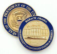 "US President (44th) Barack Obama, White House Challenge Coin 2"" in 3D+!!"
