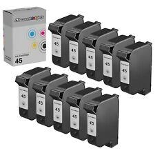 10 51645A 45 Black Printer REMAN Ink Cartridge for HP Deskjet 1600cn