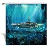 CafePress Steampunk Submarine Shower Curtain (1390591964)