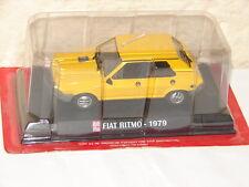 AUTO PLUS JOLIE VOITURE FIAT RITMO 1979 NEUVE EN BOITE FERMEE