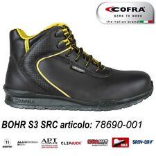 Scarpa antinfortunistica Cofra BOHR S3 SRC scarpe lavoro pelle fiore idrorepell