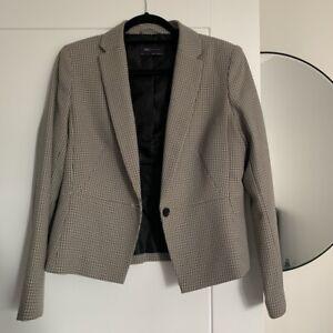 M&S Tweed Style Blazer Size 10