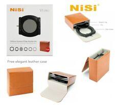 Original NISI V5 Pro System Filter Holder+ 67,72,77,82 100 Adaptor Ring+CPL+Case
